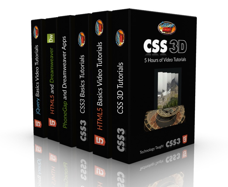 HTML5 Development Bundle of Training Videos