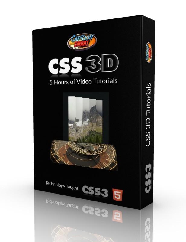 CSS3 3D Video Tutorials