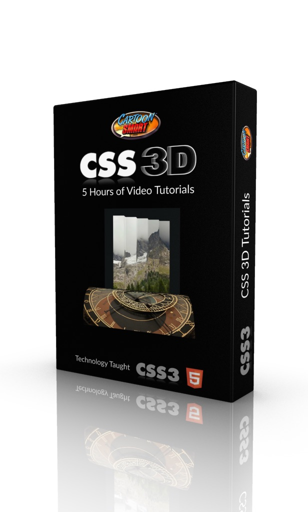 CSS3 3D Video Tutorials