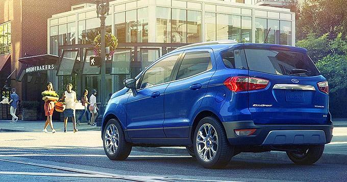 Novo Ford Ecosport 2020 dispensa Estepe Externo e tem Pneu Run Flat