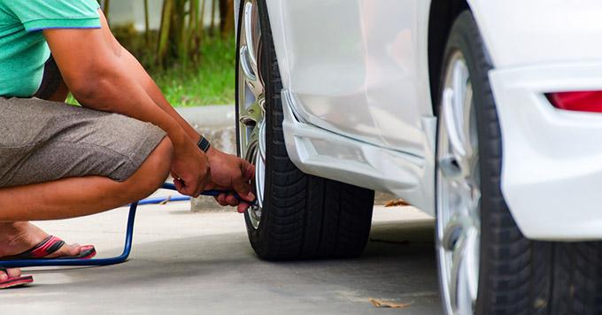 Por que é importante calibrar os pneus do carro?