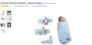 miracle swaddle
