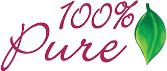 100 Percent Pure store logo