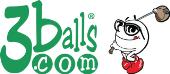 3balls Golf store logo