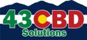 43 CBD store logo