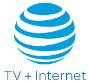 AT&T TV + Internet store logo