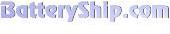 BatteryShip.com store logo