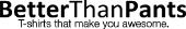 BetterThanPants store logo