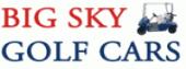 Big Sky Golf Cars store logo