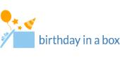 Birthday in a Box store logo