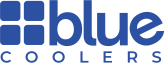 Blue Coolers store logo