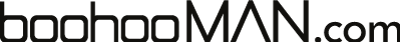 boohooMAN store logo