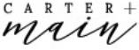 Carter + Main store logo