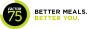 Factor75 store logo