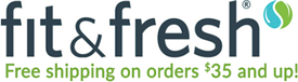 Fit and Fresh store logo