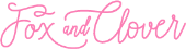 Fox and Clover store logo