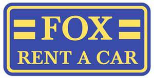 Fox Rent-A-Car store logo