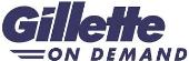 Gillette on Demand store logo