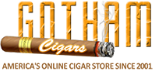 Gotham Cigars store logo