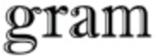 Gram Shoes store logo
