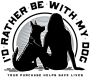 I'd Rather Be With My Dog store logo