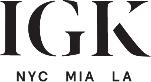 IGK Hair store logo