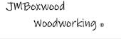 JMBoxwood Woodworking store logo