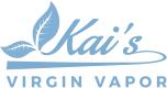 Kai's Virgin Vapor store logo