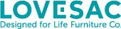 Lovesac store logo
