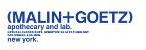 Malin+Goetz store logo