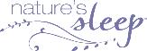natures-sleep store logo