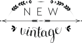 New Vintage store logo