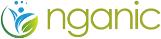 Nganic store logo