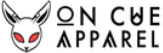 On Cue Apparel store logo