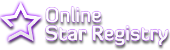 Online Star Registry store logo