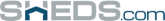 Sheds.com store logo