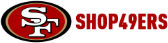 Shop 49ers store logo