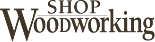 Shop Woodworking store logo