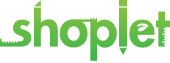 Shoplet store logo