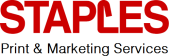 Staples Print & Marketing Services store logo