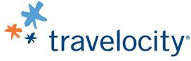 Travelocity store logo