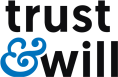Trust and Will store logo