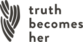 Truth Becomes Her store logo