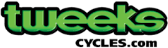tweeks-cycles store logo
