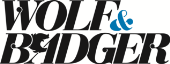 Wolf and Badger store logo