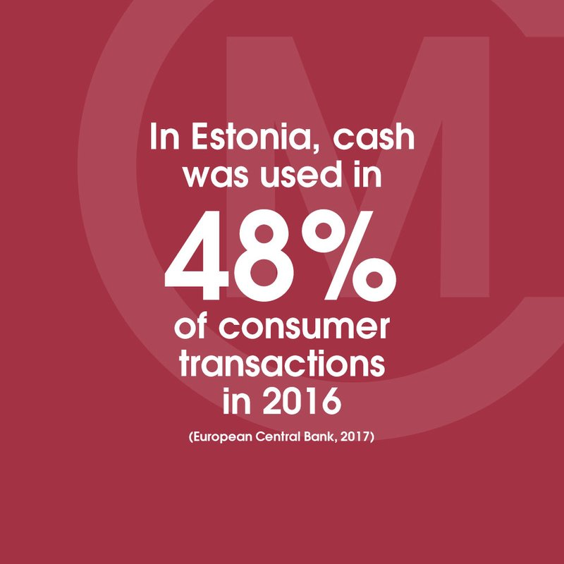 Estonia ECB Cash POS 48pc STAT Ruby Red 1
