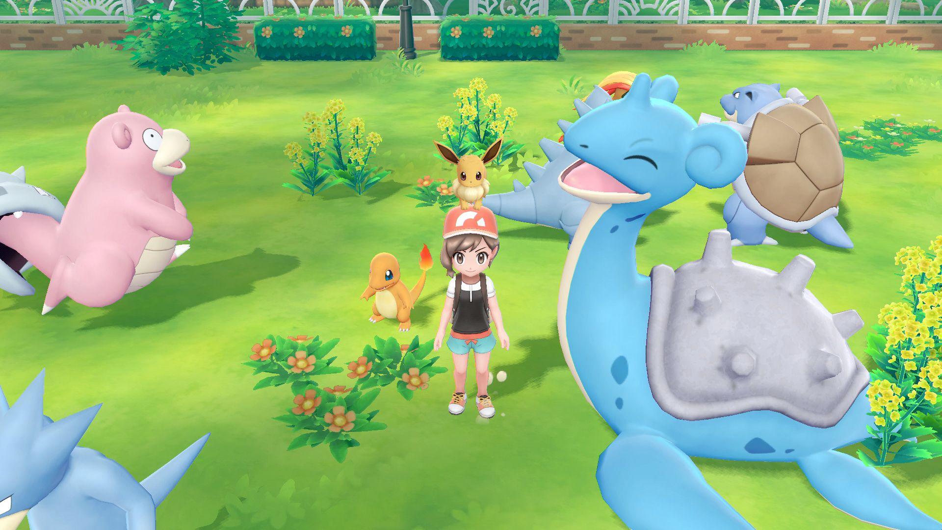 Pokemon: Let's Go Pikachu and Eevee - Legendary Pokemon