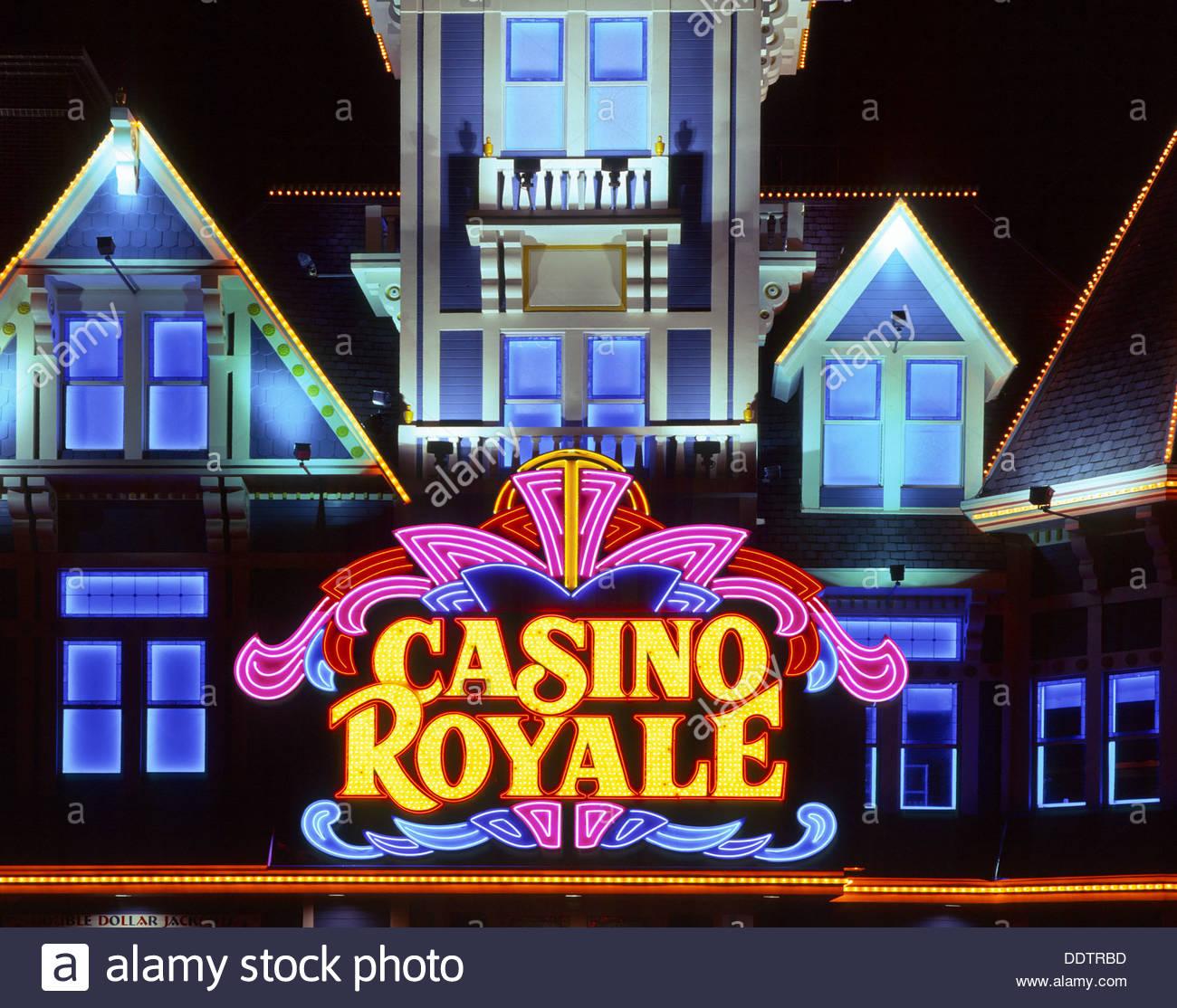 Casino Royale Hotel, Las Vegas, Nevada, USA Stock Photo