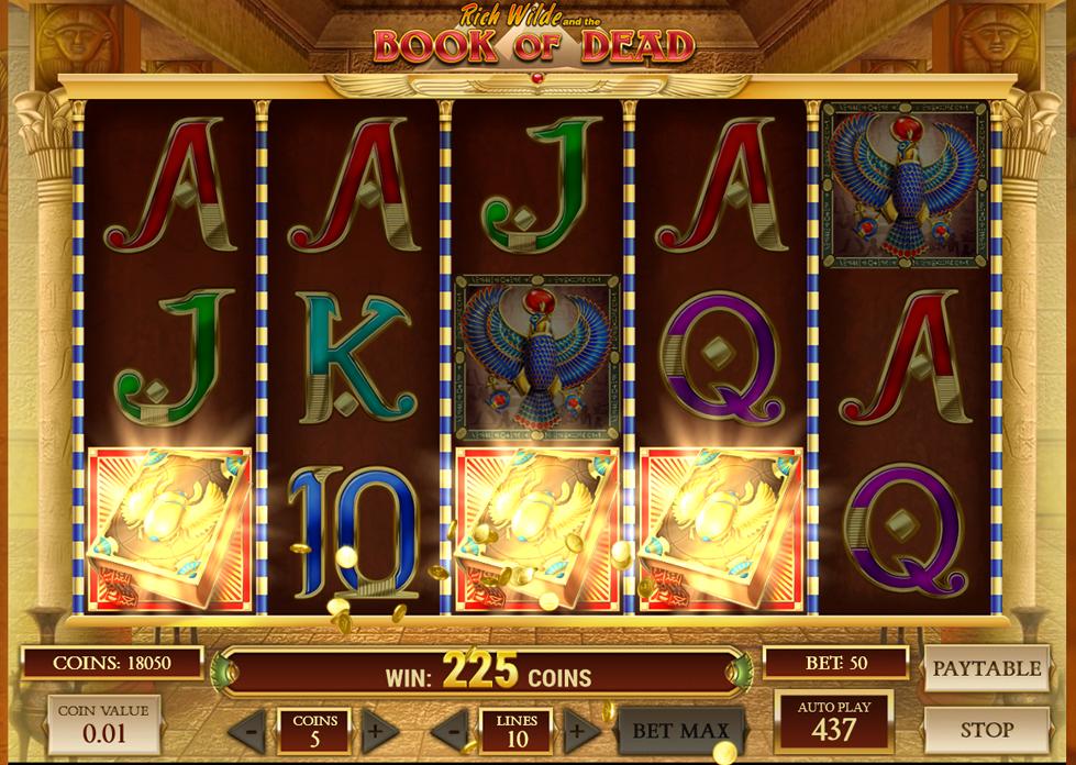 Book of Dead™: Alle Online Casinos mit diesem Spiel