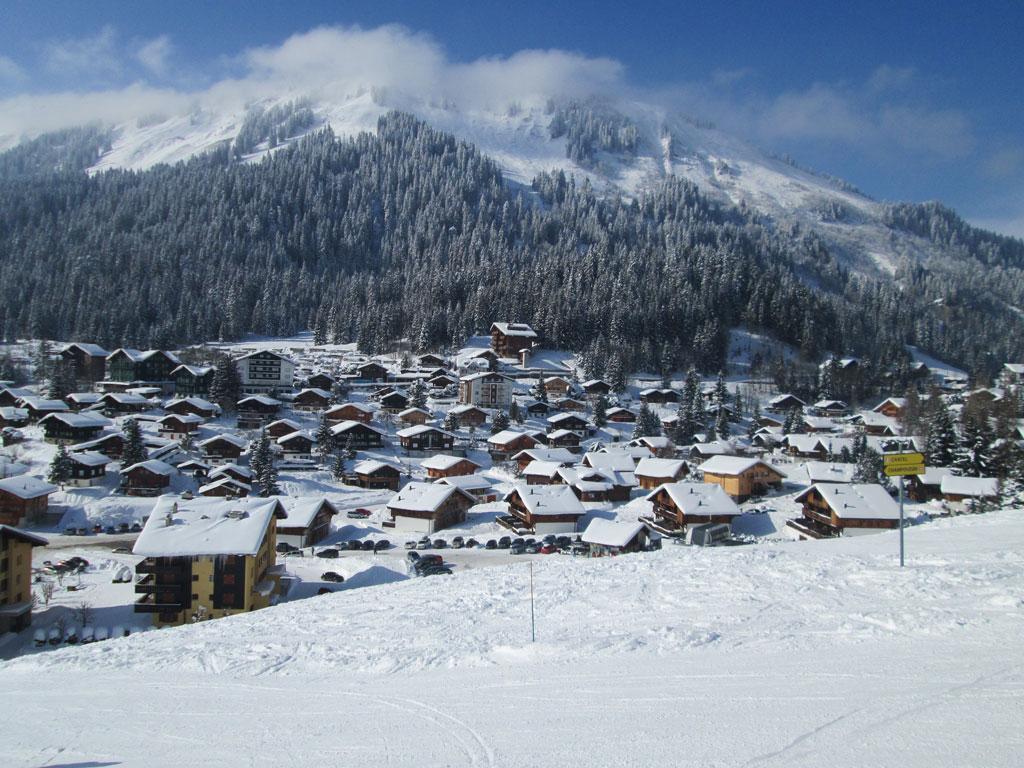 Skigebiet Morgins - Skiurlaub & Skifahren in Schweiz